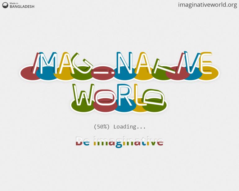 Imaginative World - 50% loading...